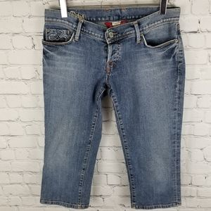 LUCKY BRAND | Sweet Dream Cropped jean shorts